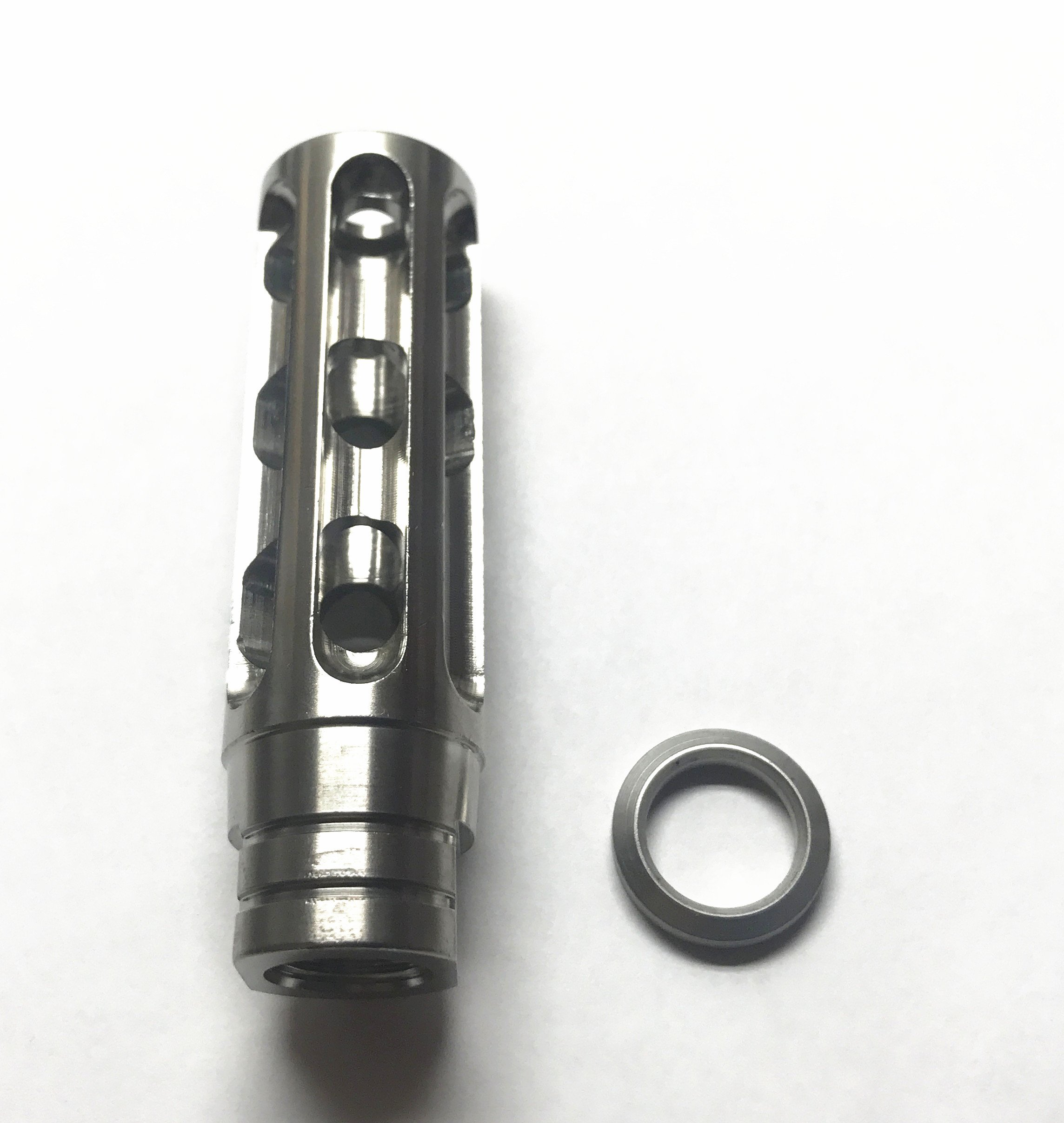 Stainless Steel 6 5 Creedmoor Muzzle Brake With Free Crush Washer