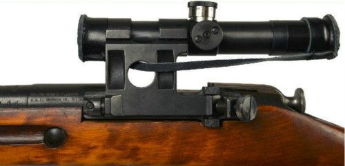 Mosin Nagant 9130 PU Scope With Mount Complete Set