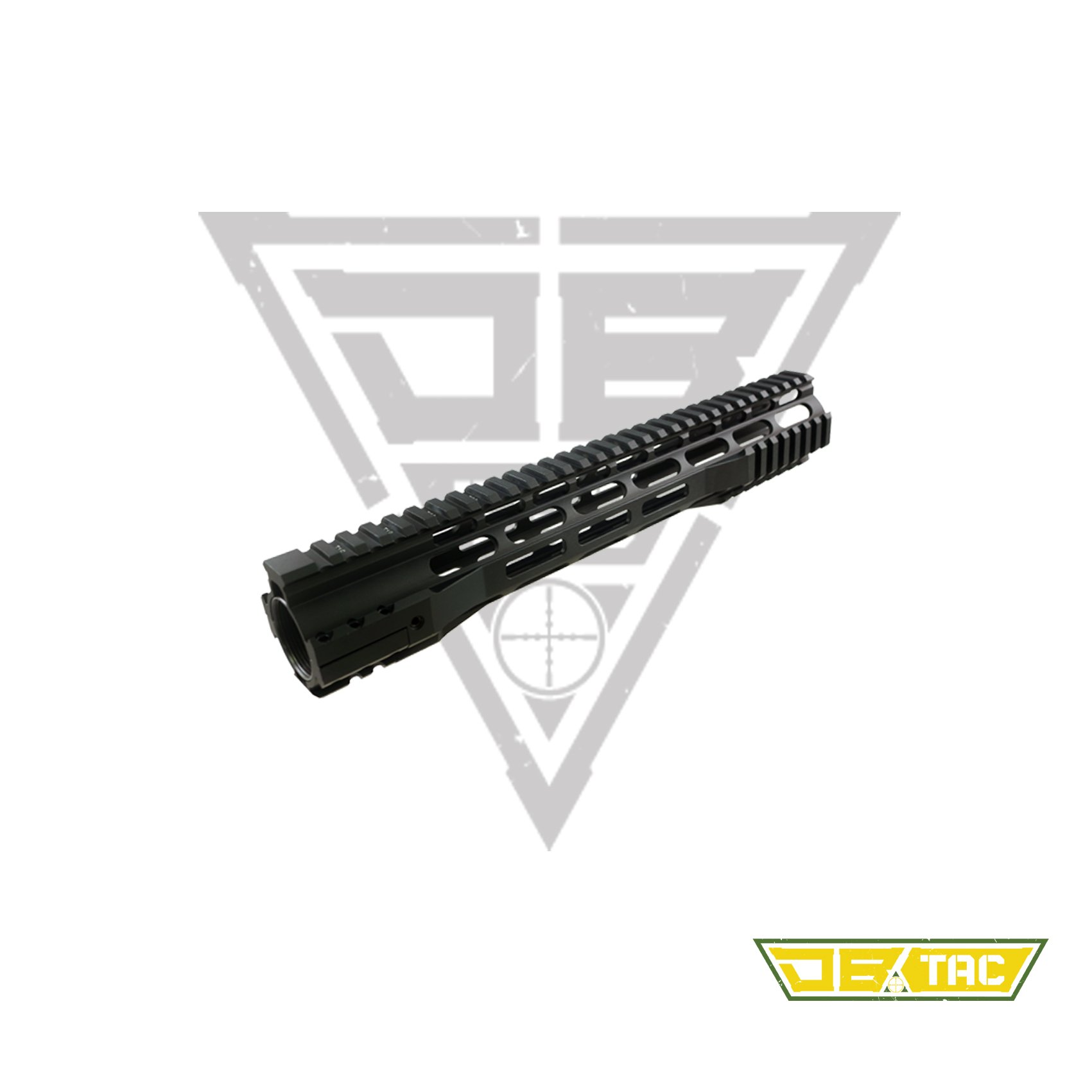 "Super Slim 15/"" Extra Long KeyMod Free Float Handguard Rail .223 223 5.56"