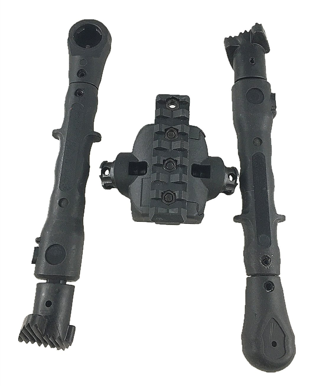 Rubber Armored Legs High Quality Tactical 8/'-12/' Side Mount Bipod Picatinny