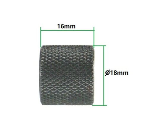 Aluminum Glock 9mm 1//2-28 TPI Muzzle Brake Thread Protector Black